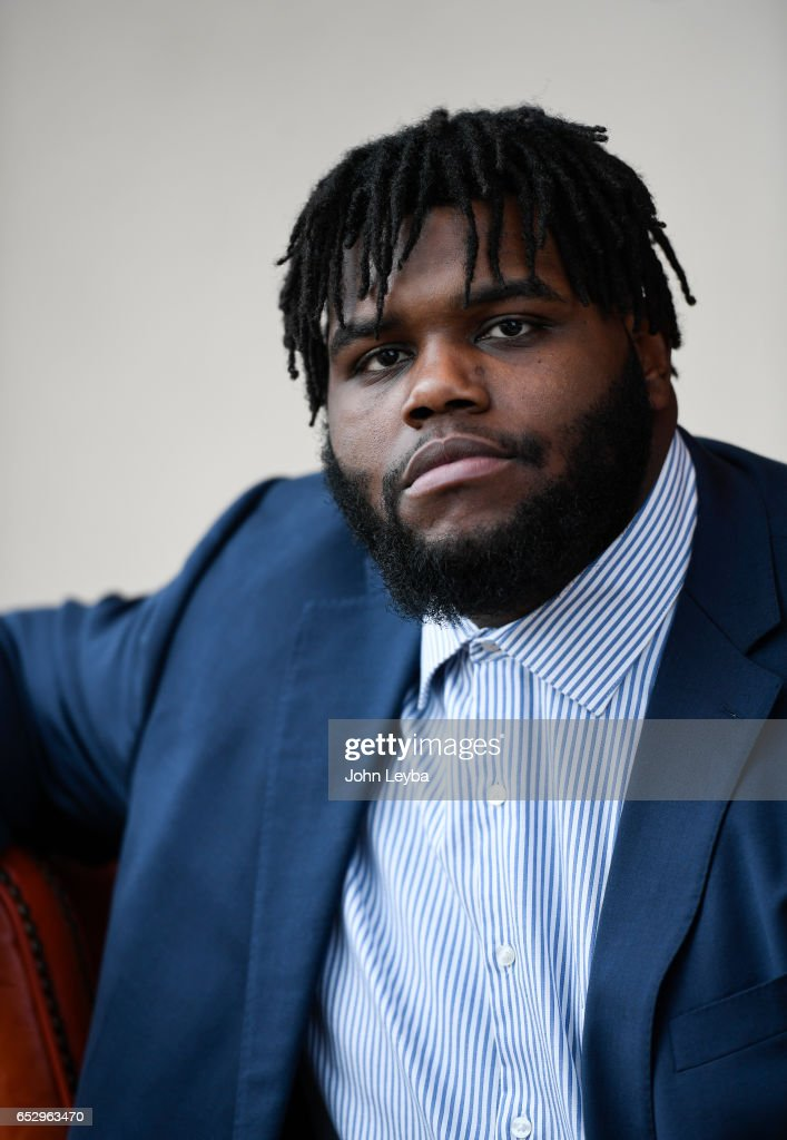 Denver Broncos announce new players defensive lineman Zach Kerr and nose tackle Domata Peko on March 13, 2017 in Denver, Colorado at Dove Valley. Kerr signed a two-year contract with the club.