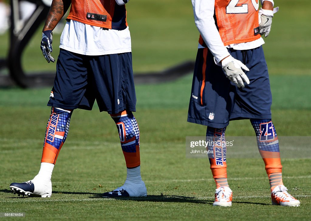 Denver Broncos training camp 2016 : News Photo