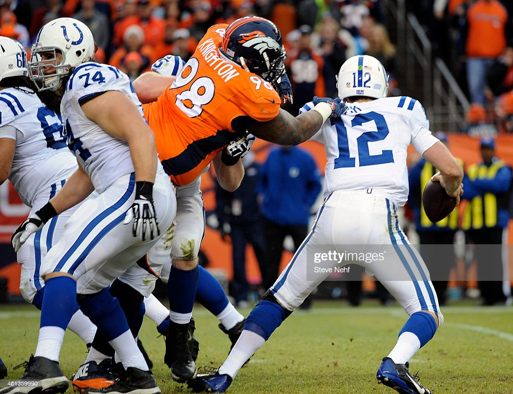 Denver Broncos vs. Indianapolis Colts : News Photo