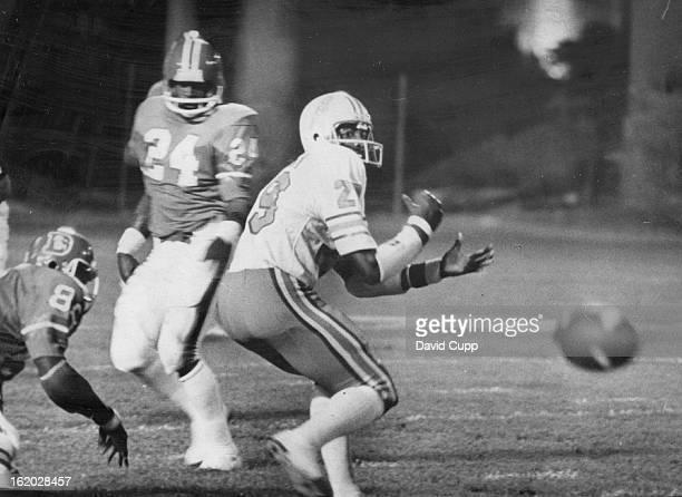 AUG 23 1975 AUG 24 1975 Denver Broncos Exhibition Game