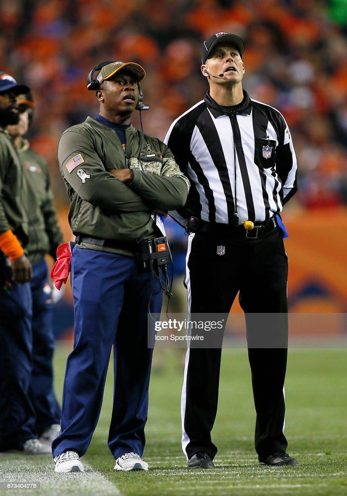 NFL: NOV 12 Patriots at Broncos : News Photo