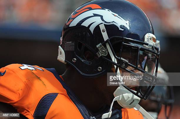 Denver Broncos linebacker Brandon Marshall led the defense to a win over the Baltimore Ravens at Sports Authority Field at Mile High on September 13...