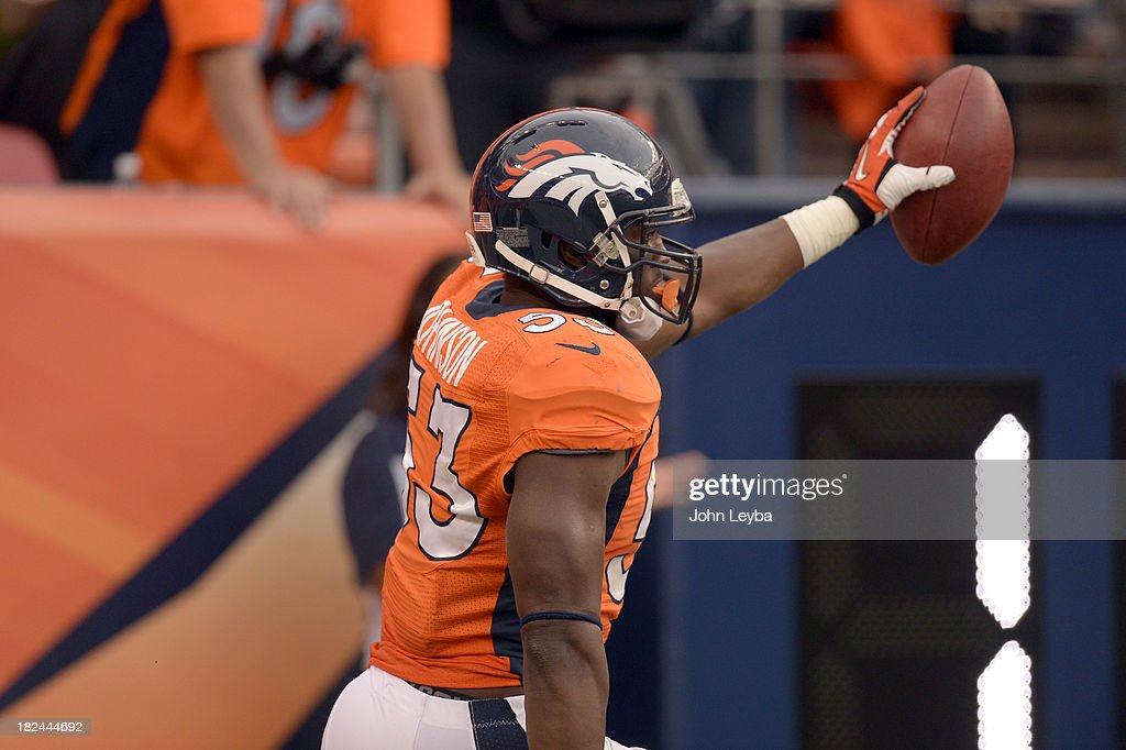 Denver Broncos vs PHiladelphia Eagles at Sports Authority Field : News Photo