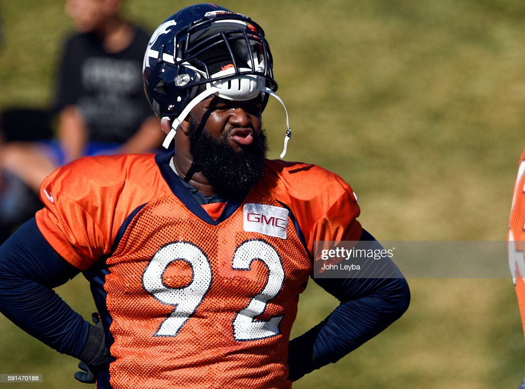 Denver Broncos training camp 2016 : News Photo