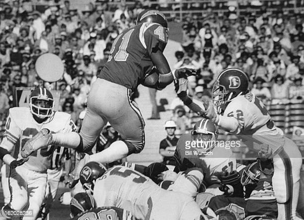 NOV 1975 NOV 17 1975 Denver Broncos