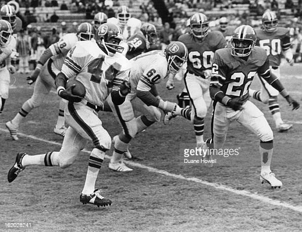 NOV 23 1975 NOV 25 1975 NOV 28 1975 Denver Broncos