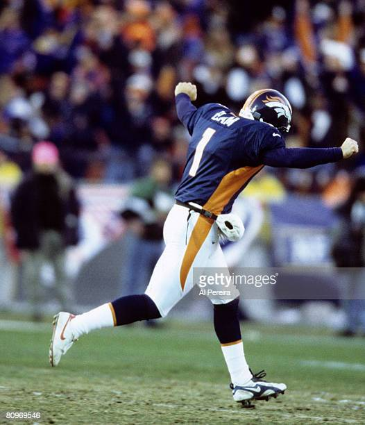 Placekicker Jason Elam Stock Photos And Pictures