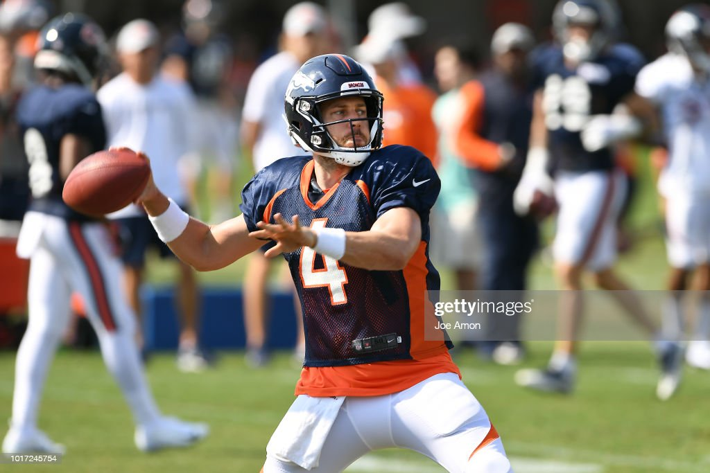 BRONCOS TRAINING CAMP : News Photo