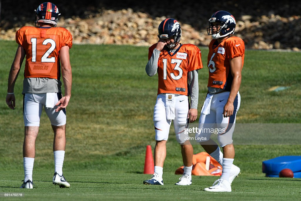 Denver Broncos training camp 2016 : ニュース写真