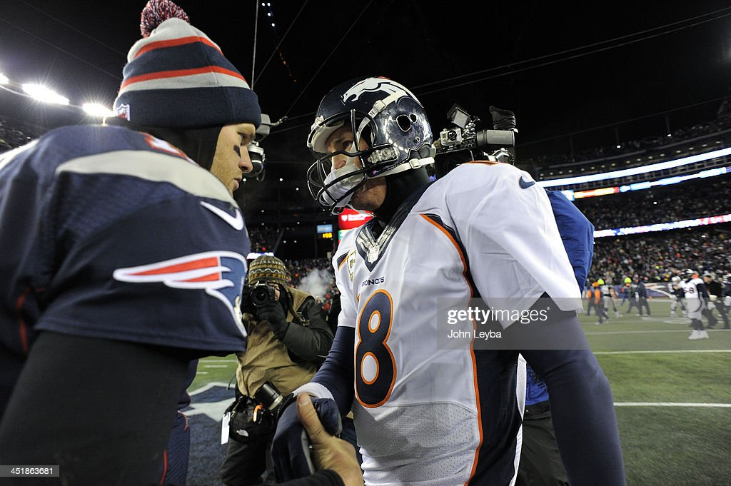 Denver Broncos versus the New England Patriots : News Photo