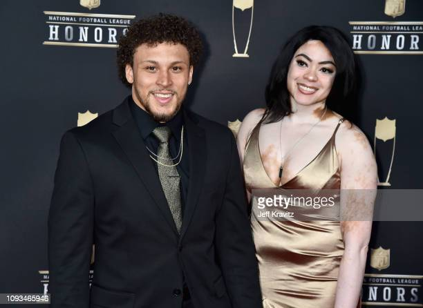 Denver Broncos running back Phillip Lindsay attends the 8th Annual NFL Honors at The Fox Theatre on February 2 2019 in Atlanta Georgia