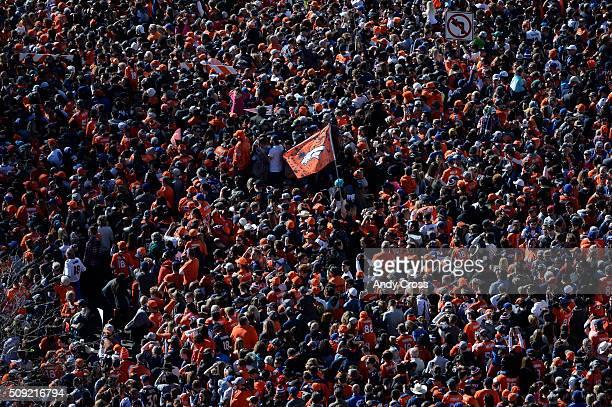 Denver Broncos Super Bowl 50 celebration parade February 07 2016