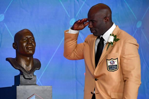 Pro Football Hall of Fame Enshrinement ceremony