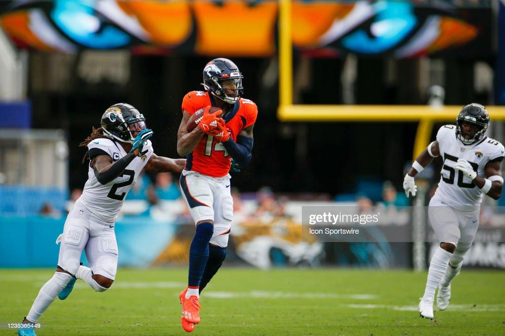 NFL: SEP 19 Broncos at Jaguars : News Photo
