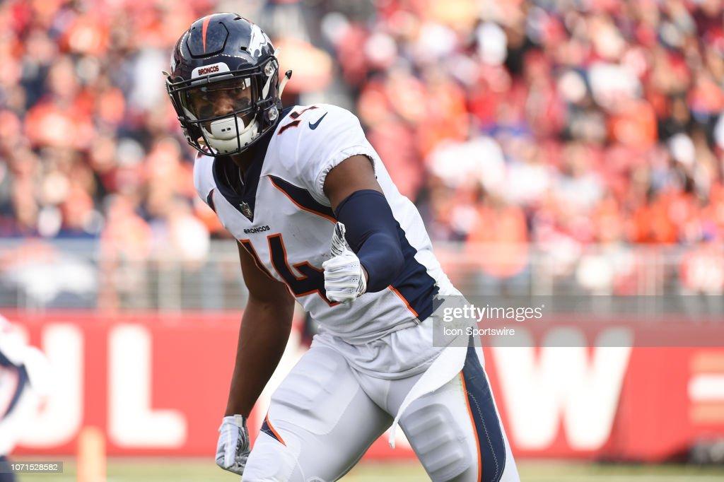 NFL: DEC 09 Broncos at 49ers : News Photo
