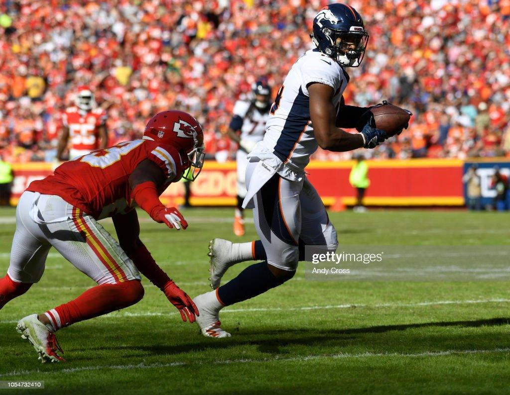 Denver Broncos vs Kansas City Chiefs : Fotografia de notícias