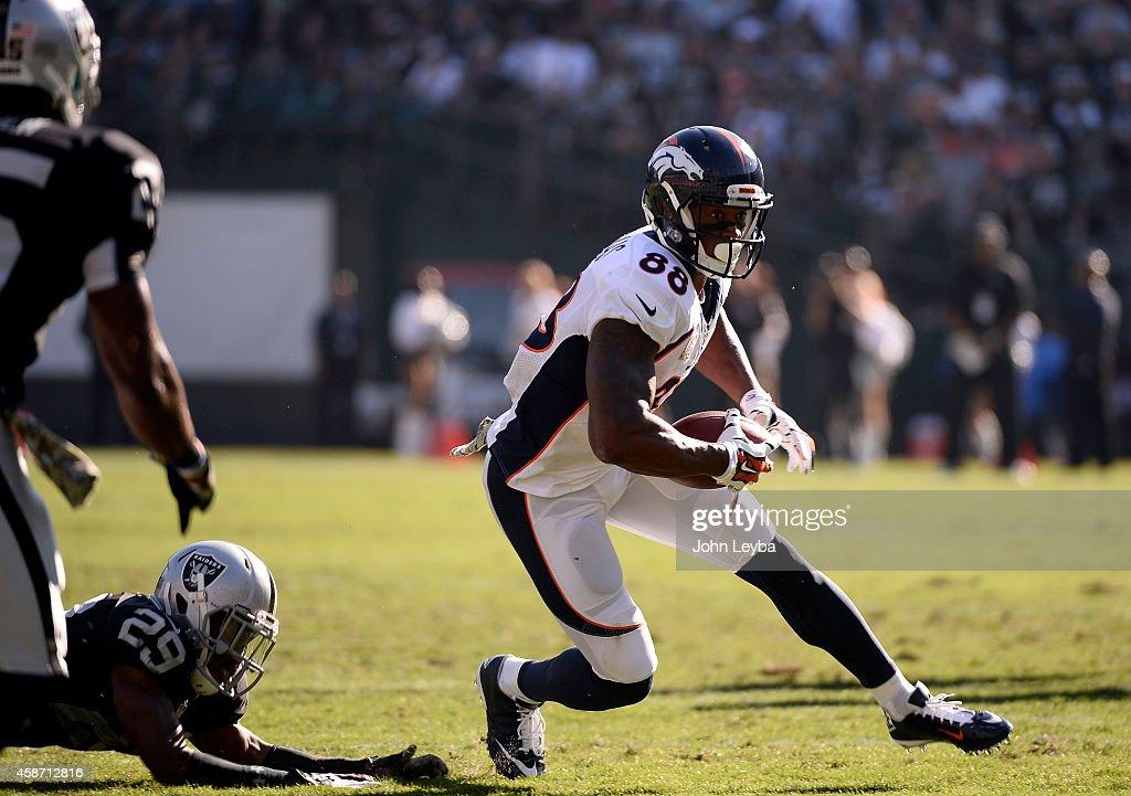 Denver Broncos v Oakland Raiders