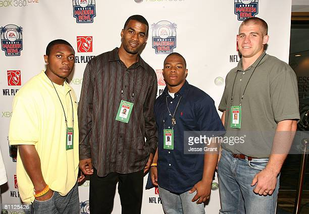 Denver Broncos wide receiver Eddie Royal, Buffalo Bills wide receiver James Hardy, Baltimore ravens running back Ray Rice and Green Bay Packers wide...