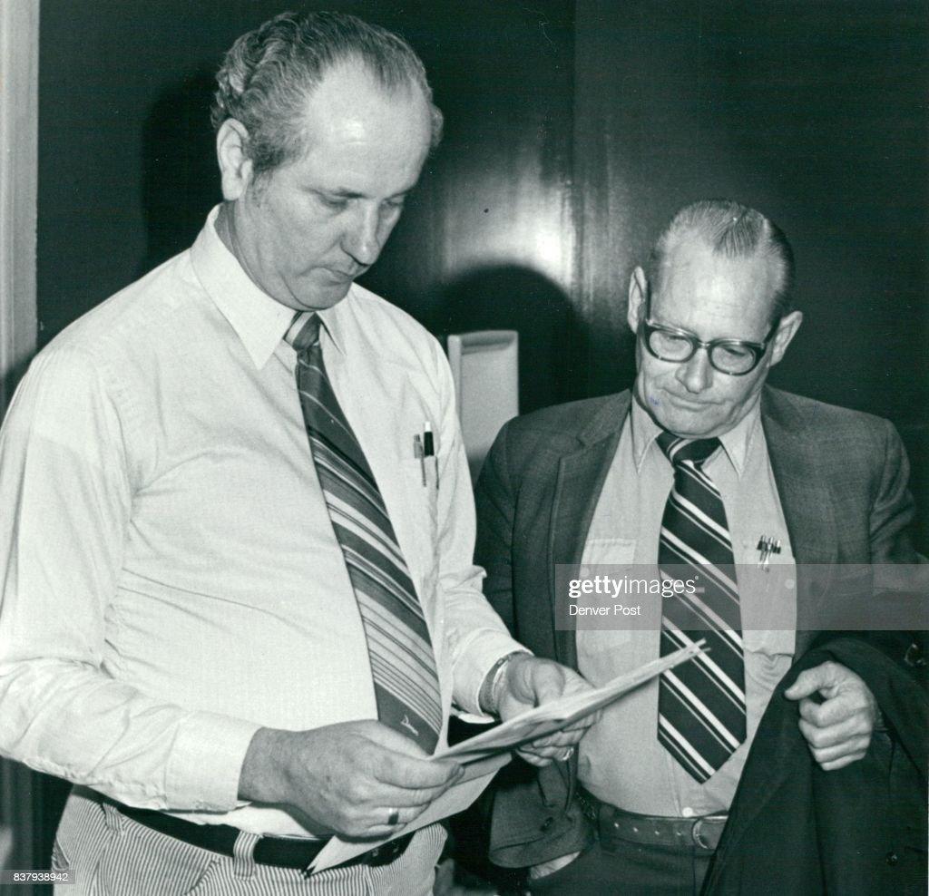 Police Depart. Dale Burkhart & Wm. Costlow