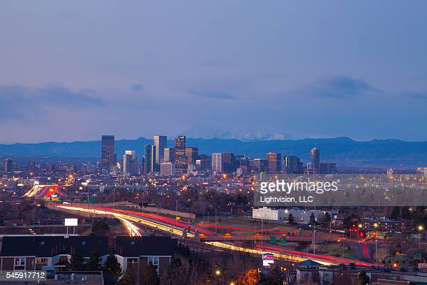 Denver, Colorado Downtown Skyline