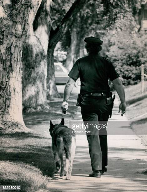 Denver Colorado Police Department Canine Corps Credit Denver Post