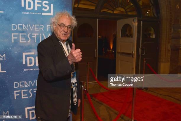 Denver Film Society Co-Founder & Festival Founder Ron Henderson on the red carpet for the 41st annual Denver Film Festival on October 31, 2018 in...