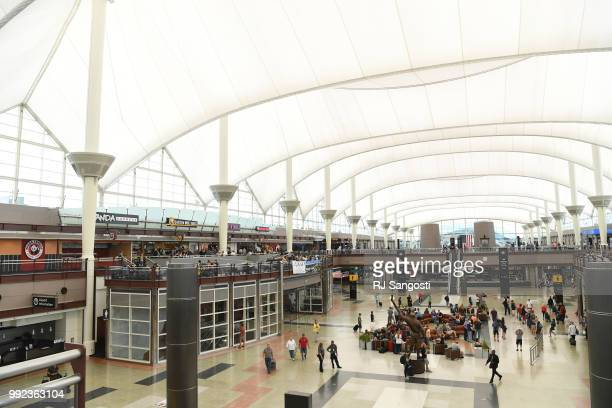 Denver International Airport will soon break ground on a 35 yearlong remodel project on July 5 2018 in Denver Colorado