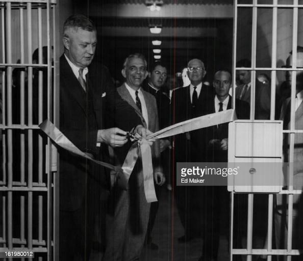 FEB 27 1956, FEB 28 1956; Denver; Mayor Nicholson Cuts A