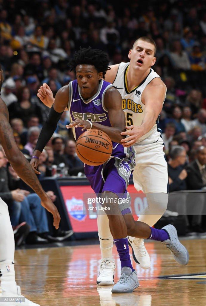 Denver Nuggets versus the Sacramento Kings : News Photo