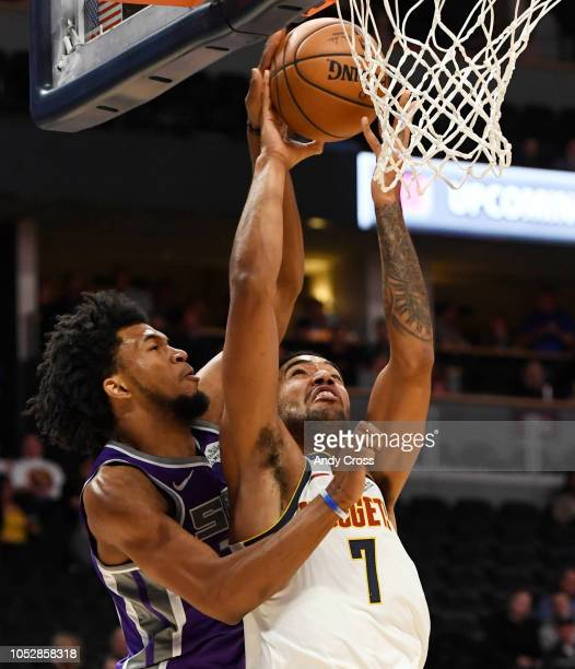 Denver Vs Kings: Marvin Giles Iii Stock Photos And Pictures