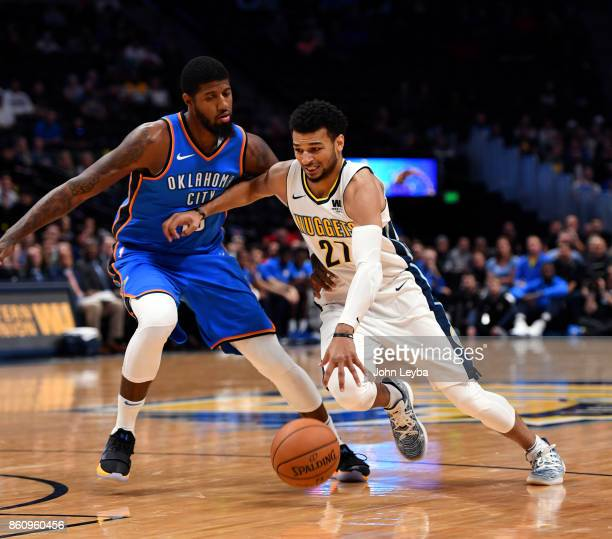 Nuggets Murray: Paul George Basketball Player Stock Photos And Pictures