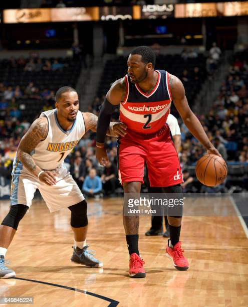 Denver Nuggets X Washington Wizards: John Wall Basketball Player Stock Photos And Pictures