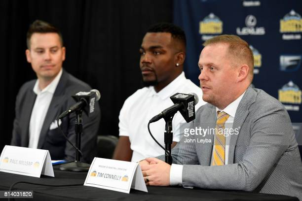 Denver Nuggets officially announced the signing of Paul Millsap on July 13 2017 at a press conference at the Montbello Rec Center Denver Nuggets...