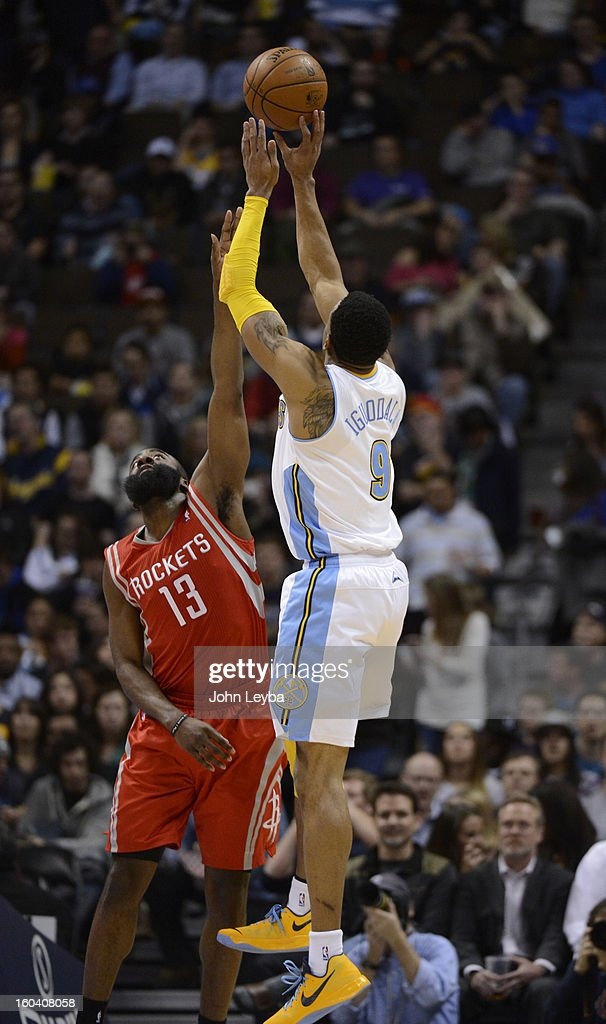 The Denver Nuggets versus Houston Rockets : News Photo