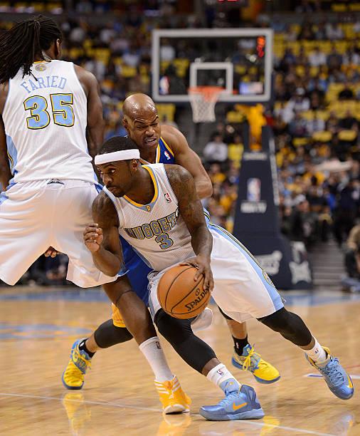 Denver Nuggets Guards: Golden State Warriors V Denver Nuggets