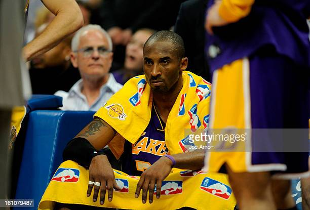 Denver Nuggets vs Los Angeles Lakers NBA Playoffs Game 4 Monday, April 28, 2008 at the Pepsi Center in Denver, Co. Los Angeles Lakers' Kobe Bryant on...