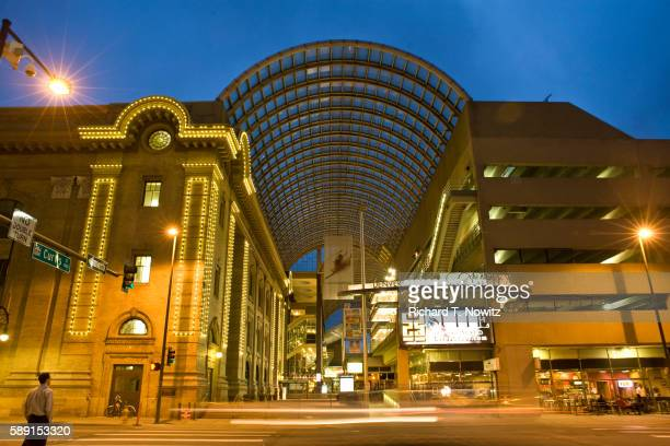 denver performing arts center - performing arts center stock pictures, royalty-free photos & images