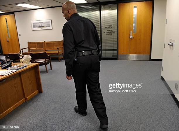 Denver Police Chief Robert White has been in office for six months and is using the afternoon after a meeting on Friday June 22 2012 to catch up on...