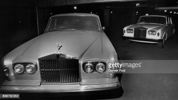 Denver Police Headquarters Rolls Royce seized by police in drug raid was told by a police sargent who took me down to the cars the car on the left...