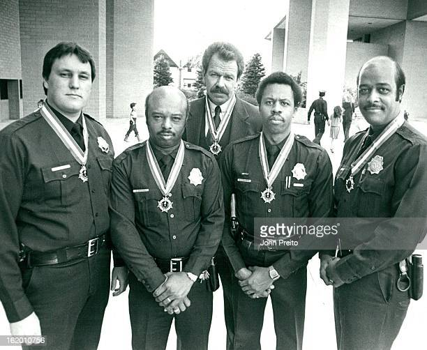 DEC 17 1982 DEC 18 1982 Denver Police Honored Six Denver policemen Friday received the department's highest award the Medal of Honor Five winners...