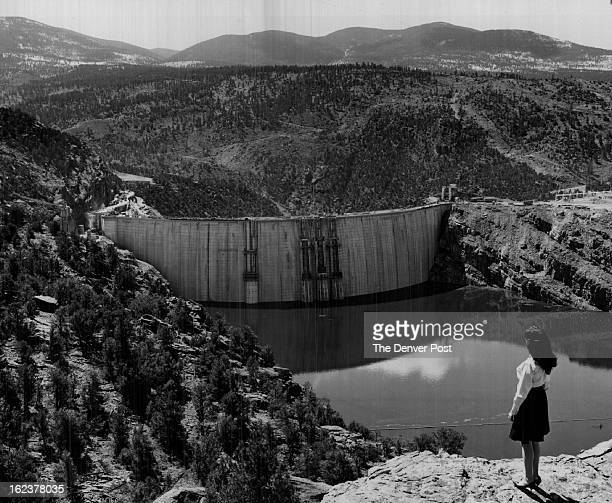 JUN 4 1963 Denver Post Staff Writer Despite streamflow far below normal in most of the Colorado River drainage US Bureau of Reclamation official...