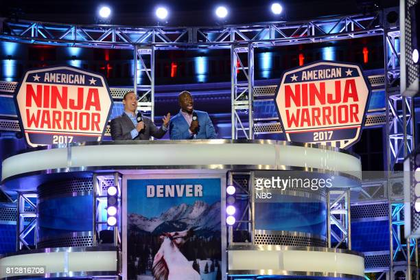 WARRIOR 'Denver Qualifier' Pictured Matt Iseman Akbar Gbajabiamila