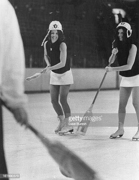 FEB 19 1970 MAR 8 1970 Denver Spurs One of the team members representing the Playboy Bunnies will be Bunny Phyl Lynn Sanner sports director for...