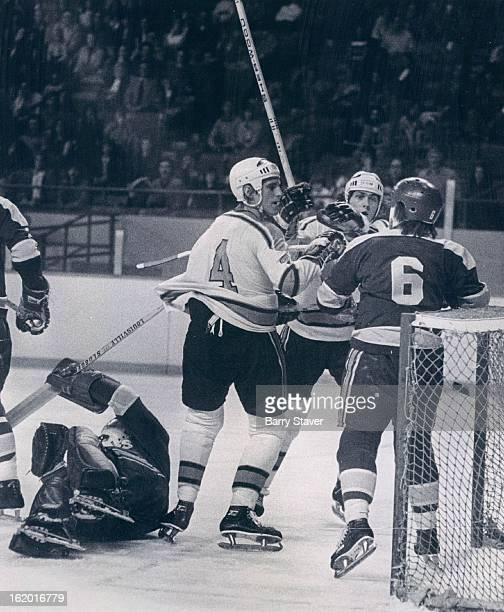 MAR 21 1975 MAR 22 1975 Denver Spurs Twoonone Situation Ain't Fair Denver Spurs George Tower and Gordon Buynak take on Salt Lake's Ted McAneeley in...