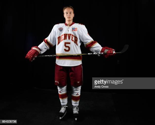 Denver University forward Henrik Borgstrom September 26 2017