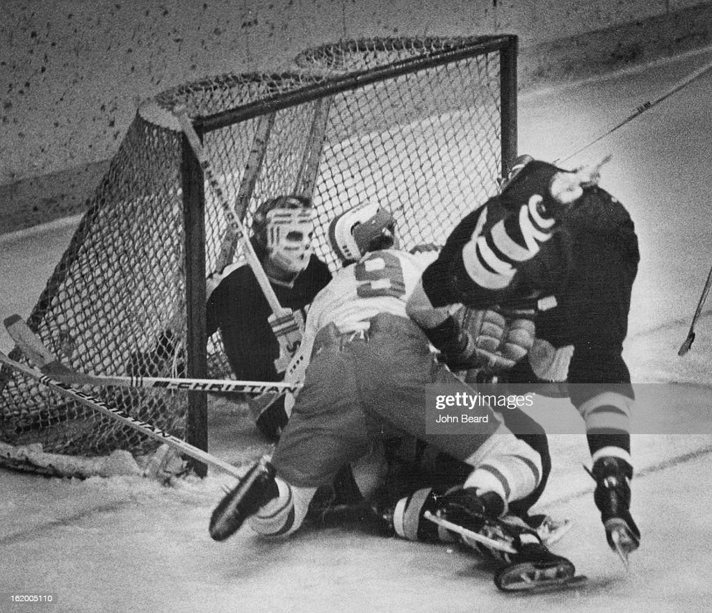 NOV 7 1972, NOV 11 1972; Denver University * Ice Hockey