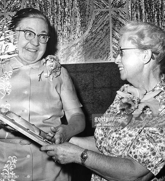 JUL 1 1959 JUN 30 1960 APR 20 1962 Denver Woman Named 'Nurse of Year' Miss Edna Burke Miss Joy Erwin
