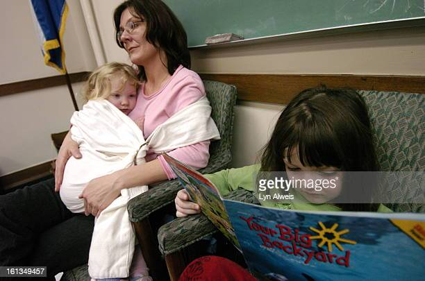March 23 2005 Parent Jennifer Parker <cq> of Highlands Ranch sat with her children in the House Health and Human Services committee meeting She spoke...