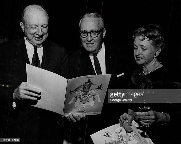 OCT 28 1964 OCT 29 1964 Denverites Sip Wines From Vineyards of France J Ramsay Harris left chatted with Mr and Mrs Ray Jenkins at tasting party Hosts...