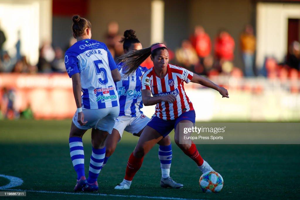 Women - Atletico De Madrid V Sporting Huelva : News Photo